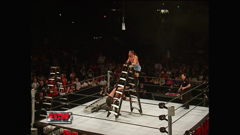 RVD Vs Big Show - Ladder Match - ECW 24.10.2006