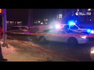 Кадры с места стрельбы в мечети в Канаде