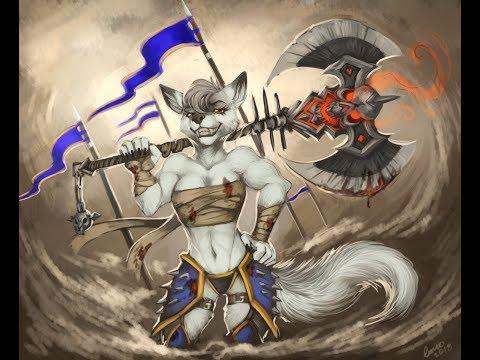 СТРЕМНЫЕ ОРКИ НУЖНО БОЛЬШЕ НЕЖИТИ Warcraft III [Часть 2]