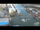 10-11-2018 Mexico Beach, Fl Hurricane Michael Catastrophic aftermath from Helicopter Aerial
