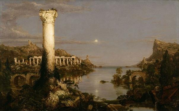 «Путь империи»  серия из 5-ти картин американского художника Томаса Коула, написанных в 1833-1836 гг
