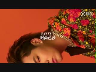 [VIDEO] Kris @ Harper's Bazaar Photoshoot