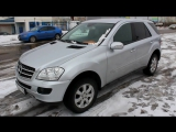 2008 Mercedes-Benz ML 320 CDI 4Matic (W164). Start Up, Engine, and In Depth Tour.