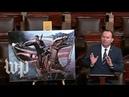 Velociraptors, giant seahorses and babies GOP senator mocks Green New Deal