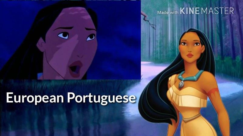 Brazilian Portuguese or European Portuguese? Non/Disney Female Voice Comparison