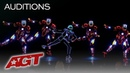 Light Balance Kids Delivers MIND-BLOWING Iron Man Dance - America's Got Talent 2019