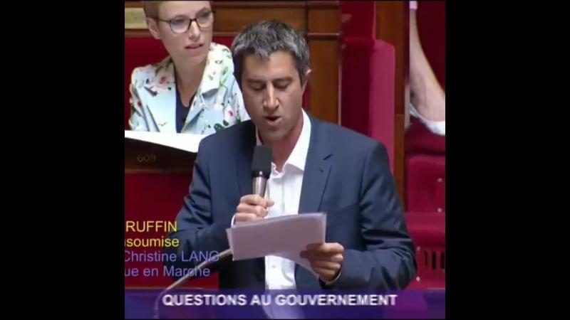 Vaisselle à 500 000 euros Ruffin interpelle le «ministre de la Faïencerie», Griveaux réplique — RT en français