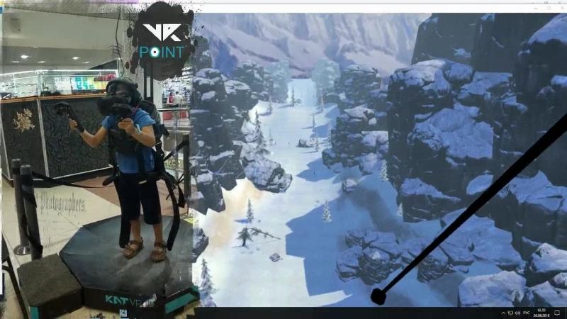 Рекорд для VR-point в не прерывном прибывании в виртуальной реальности - 50 минут