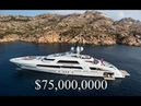 Inside A $75 Million Luxury Mega Yacht - Incredible Rich Lifestyle