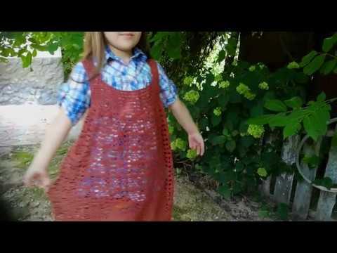 МК .Детский сарафан (платье) 2 - часть .заключительная