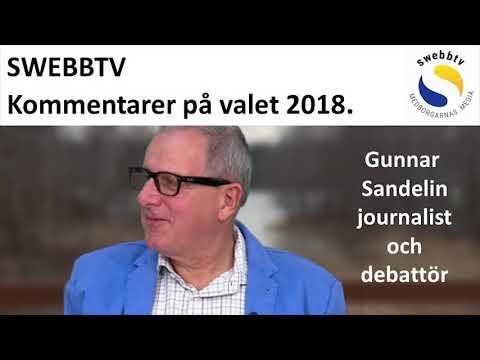 Gunnar Sandelins kommentar på valresultatet