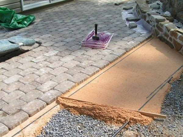 ✔ ПОЛЕЗНЫЕ СОВЕТЫ : Укладываем тротуарную плитку самостоятельно.