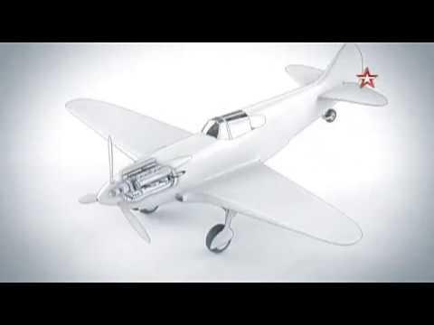 Истребитель Ла-5. Легендарные самолеты Великой Отечественной Войны.