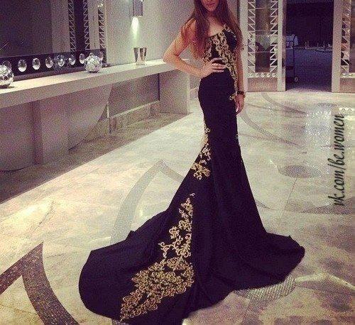 Кавказские платья вечерние в пол