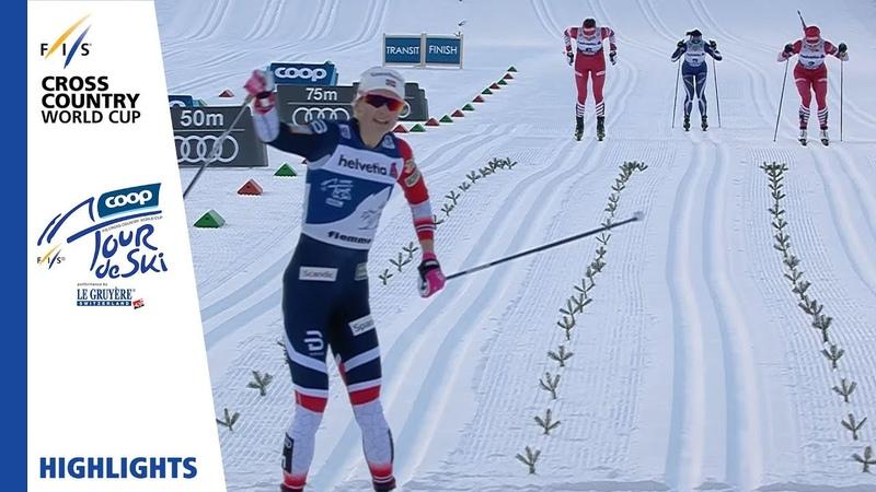 Highlights | Østberg keeps winning streak alive | Val di Fiemme | Ladies' MST | FIS Cross Country