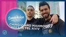 Chingiz 🇦🇿 and Mahmood 🇮🇹 meet up during Tel Aviv postcard shoot Eurovision 2019