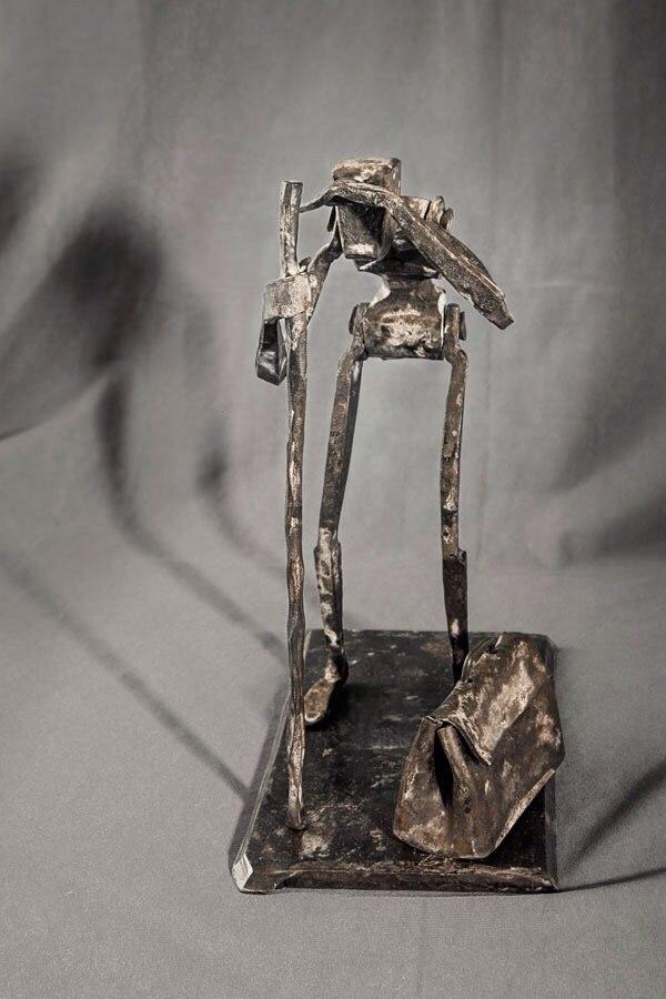 В Таганроге кузнец Романа Кость покажет «Металлопаластику»