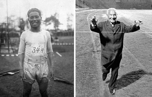 История японского марафонца.