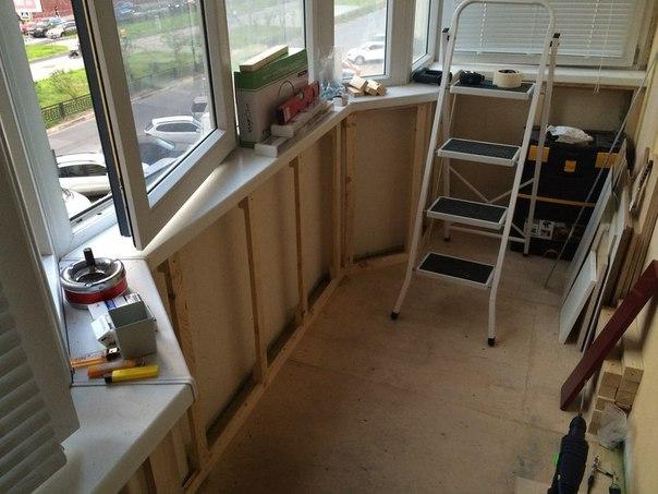 Балкон своими руками новый