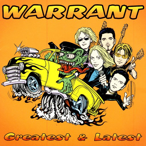 Warrant альбом Greatest & Latest