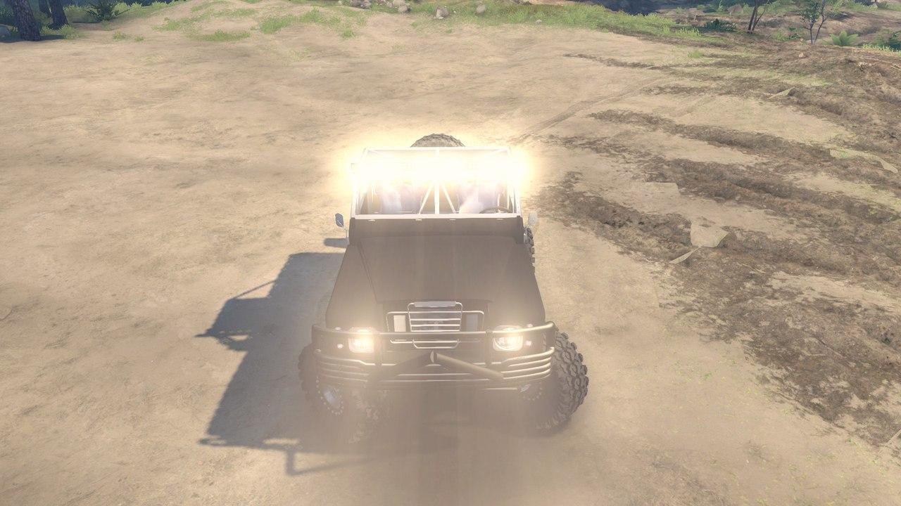 Land Rover defender 1.0 для Spintires - Скриншот 3