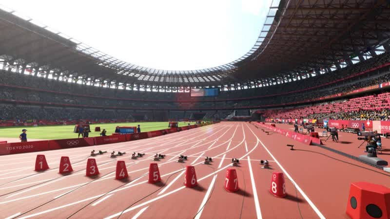NS PS4 XBO Olympic Games Tokyo 2020 The Official Video Game Screenshot Portfolio