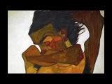 Egon Schiele, Seated Male Nude (Self-Portrait), 1910