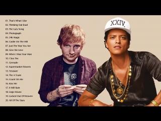 Bruno Mars, Ed Sheeran Greatest Hits Playlist - Best Pop Collection Songs 2018