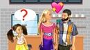 МОЙ ПАПА С МАМОЙ ПОДРУГИ Мультик Куклы Барби Ай Кукла тиви Школа Игрушки Для девочек
