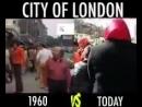 Londres en 1960 vs Londres aujourd'hui