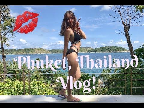 Travel Vlog Phuket, Thailand 2017 | Kharina K.