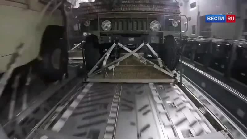 Американские военные по ошибке сбросили Хамви над жилым районом