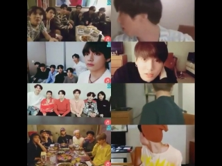 BTS screen freeze vs. ARMYs whos behind you choose your prankster @BTS_twt