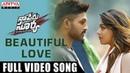 Beautiful Love Full Video Song Naa Peru Surya Naa Illu India Allu Arjun Anu Emmanuel