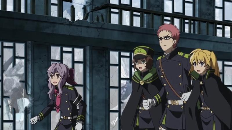 OVA Последний Серафим: Вампир Шахар / Owari no Seraph: Kyuuketsuki Shahar - OVA [AniZone.TV]