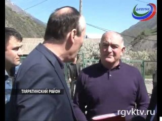 Рамазан Абдулатипов посетил Тляратинский район