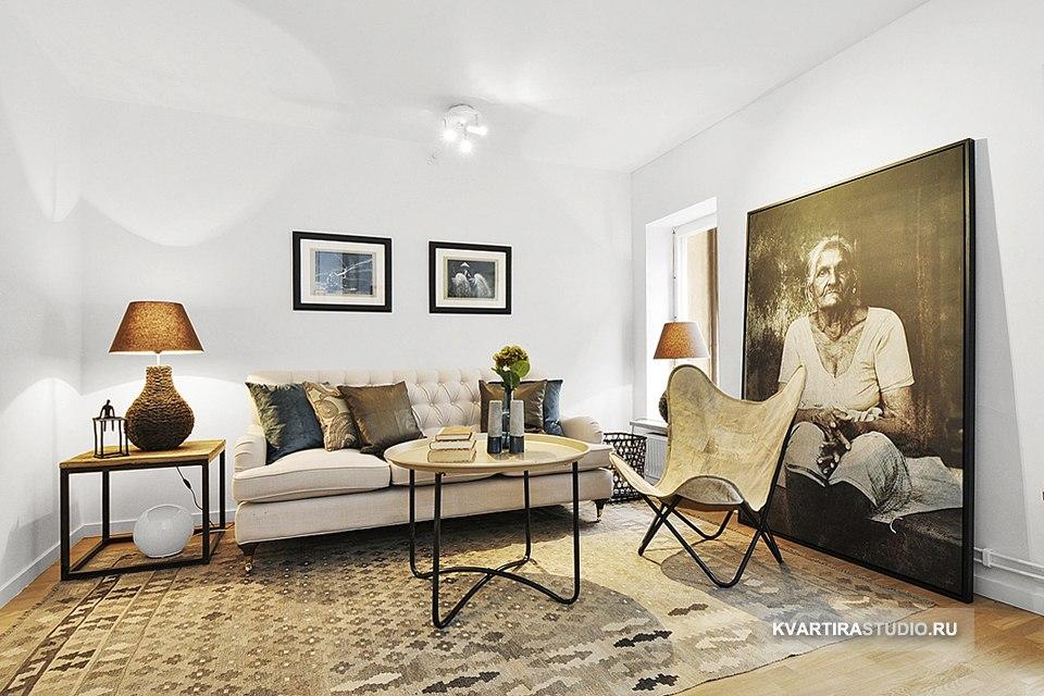 Элегантная квартира открытой планировки 28 м в Манчестере / Великобритания  - http://kvartirastudio.
