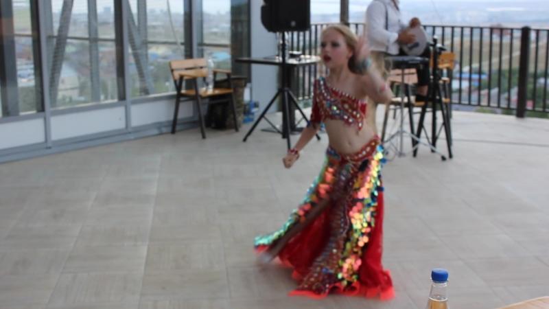 Виктория Глухова 8 лет живая табла импровизация