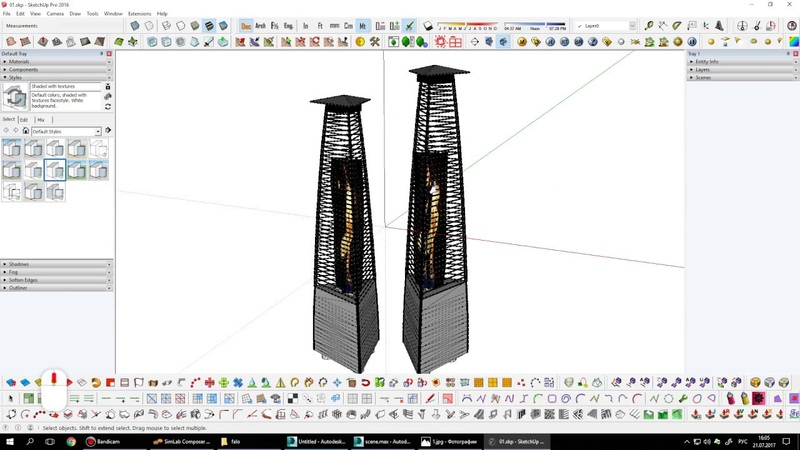 Как перевести модель из 3ds Max в SketchUp