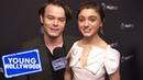 Stranger Things's Natalia Dyer Charlie Heaton Get Hype For Season 3