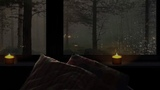 12 HOURS Rainstorm &amp Thunder Nature White Noise Rain on Old Wooden Home Ambiance