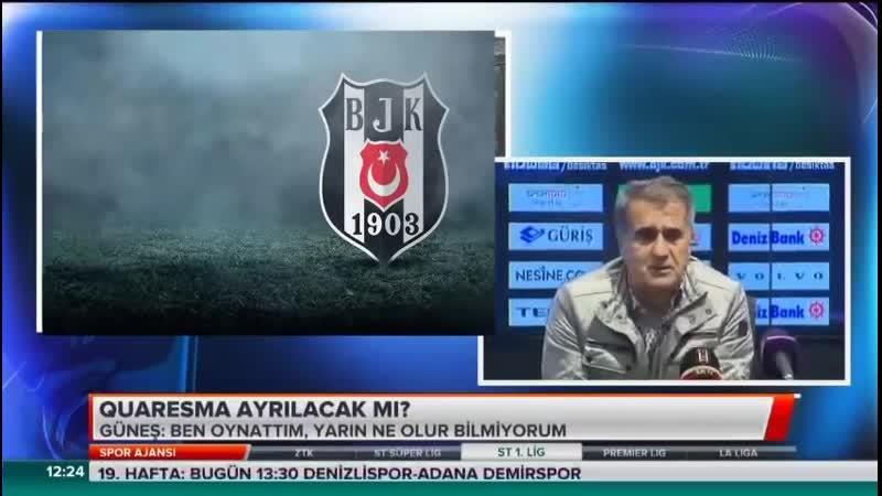 Beşiktaş Gündemi - Spor Ajansı 26 Ocak - Serdar Sarıdağ, Güvenç Kurtar