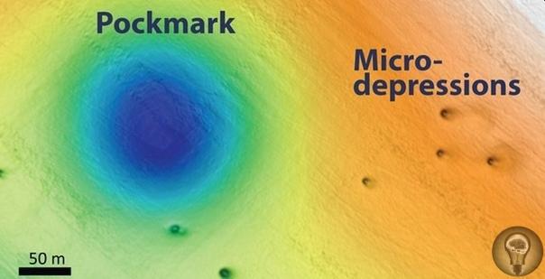 Загадочные кратеры у побережья Калифорнии Недалеко от побережья Калифорнии на дне Тихого океана скрывается загадка. Подводное исследование обнаружило тысячи кратерных впадин, некоторые из них