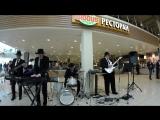 рок-н-рол от кавер-группы &ltБлюз Бэнд&gt.