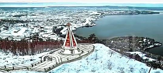 Новая Смотровая площадка и памятный знак «Маяк памяти»