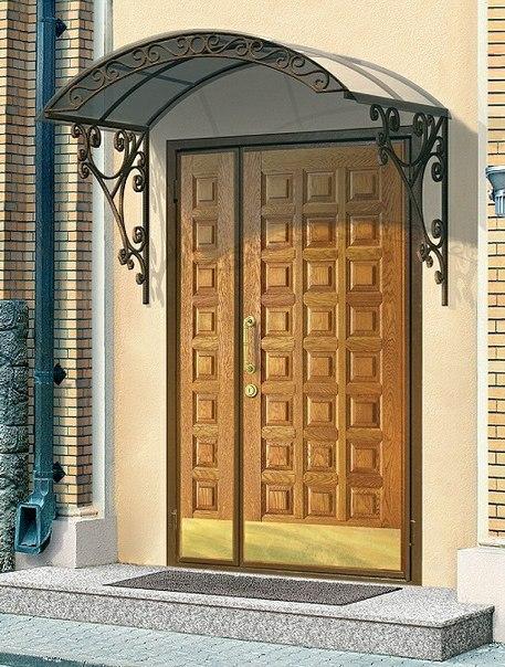 парадные входные двери двойные