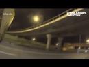 Байкер отговорил парня от прыжка с моста