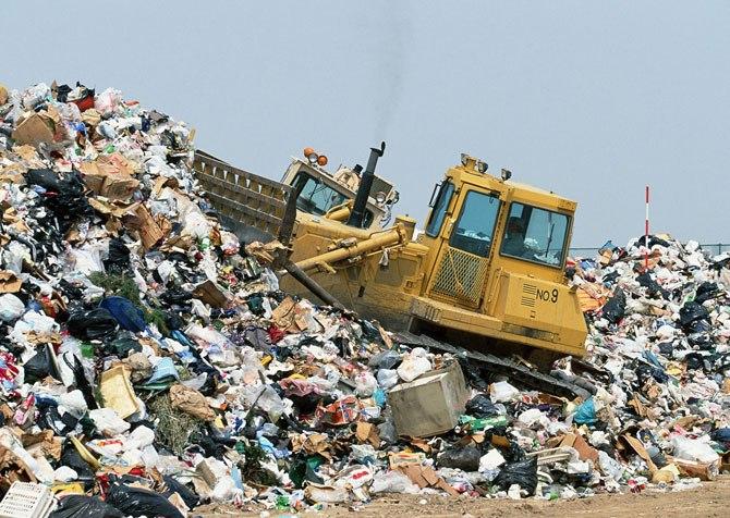 мусорная свалка на Николаевском шоссе