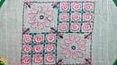 Nakshi kantha design stitch 77 how to stitch nakshi kantha নকশী কাঁথা সেলাই কাঁথা সেলাই