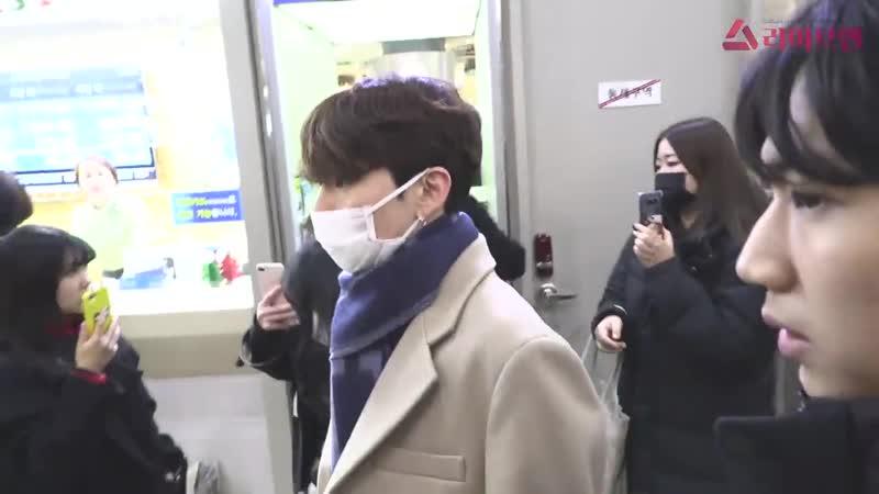 [VK][181211] MONSTA X at Gimpo Airport @ liveen TV